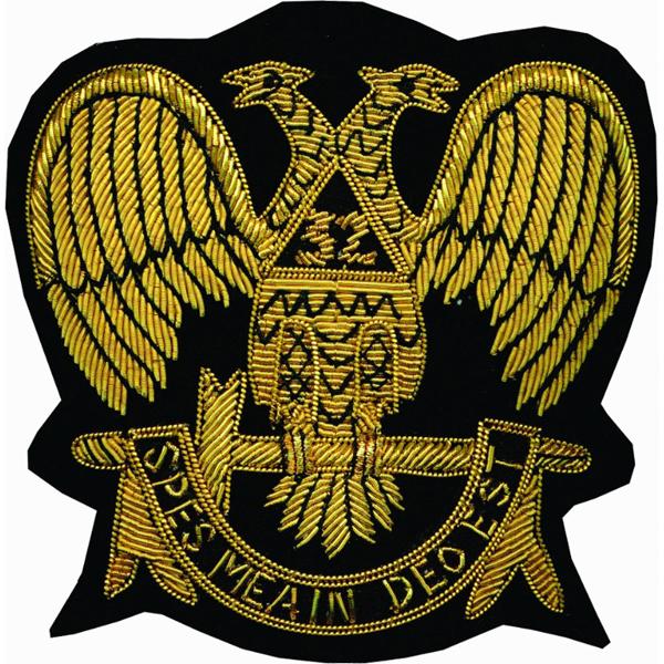 Masonic Bullion Badges